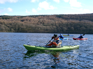 Explore the Lake District on a kayaking course with Kendal Mountaineering Services