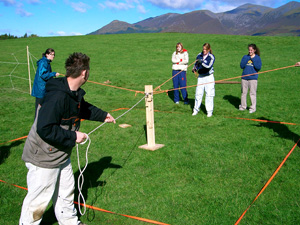 Lake District based corporate team building course with Kendal Mountaineering Services